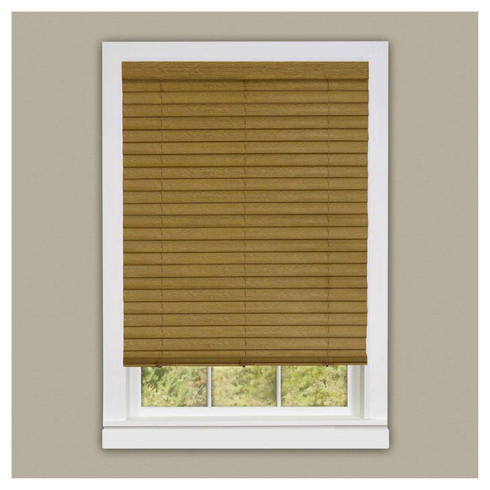 cordless watch youtube blinds wood faux express