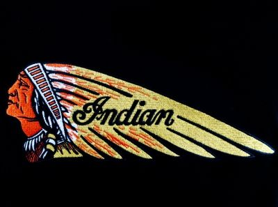 Motorcyle clothing company indian motorcycle head logo for Indian motorcycle tattoo