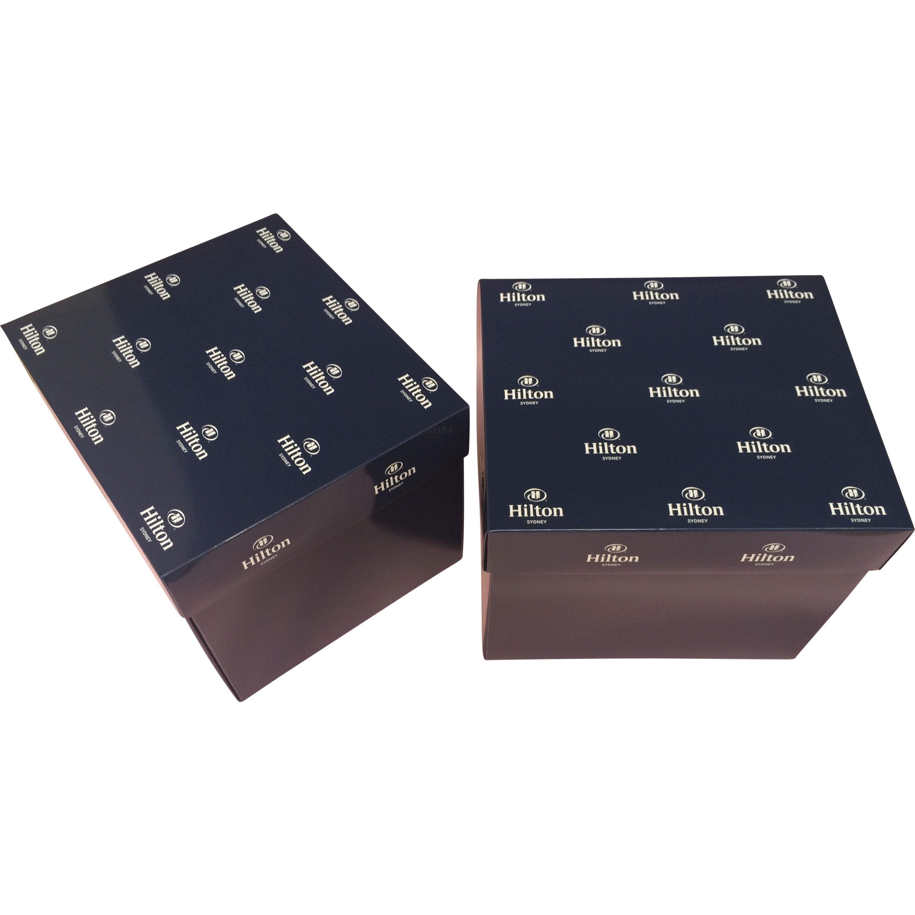 Corporate Branded Promotional Gift Boxes Flat Pack Boxes Logo