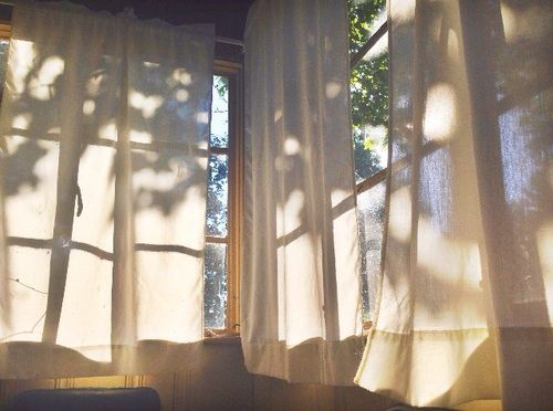 Soft Morning Light And Shadows By The Window Light