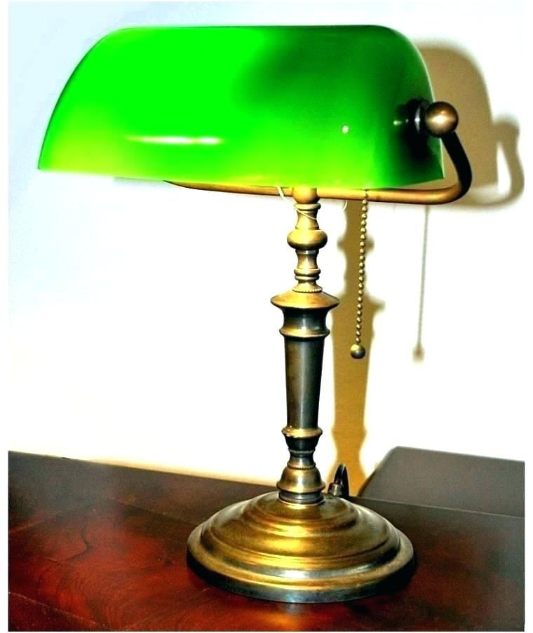 Bankers Desk Lamp Green Glass Shade Http Www Otoseriilan