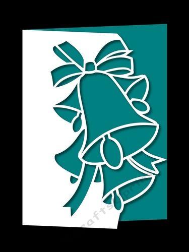 Рождественских колоколов над краем 2 - CUP741713_1051 | Craftsuprint