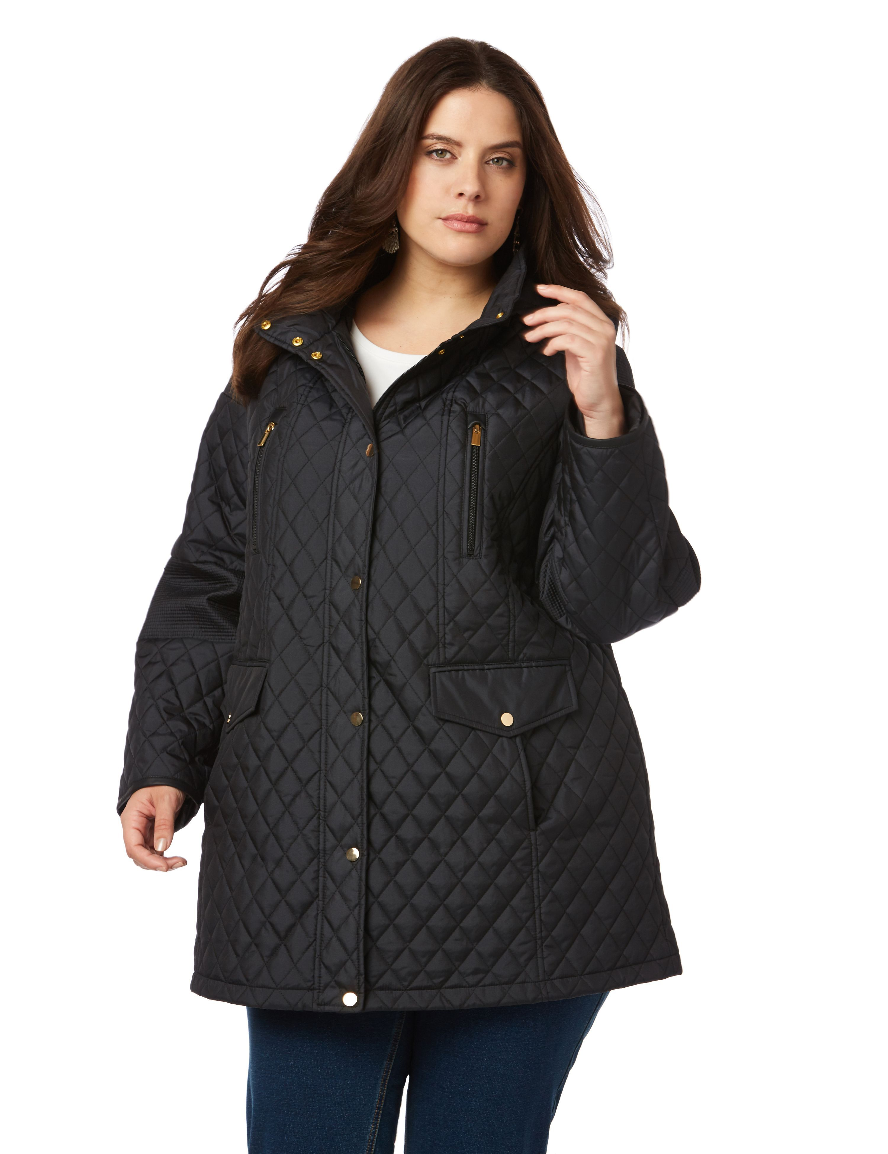 Quilted Parka Original Price 169 00 Available At Maurices Clothes Quilted Parka Fashion