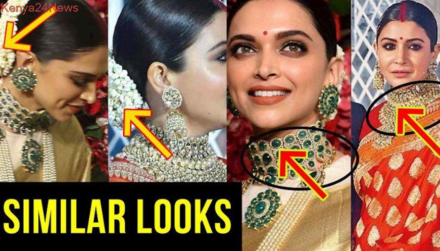 Deepika Padukone COPIES Anushka Sharma Wedding Reception ...