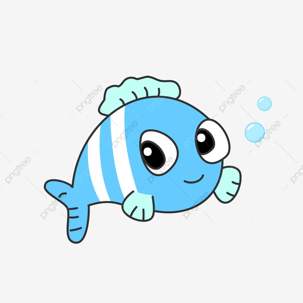 Cartoon Hand Drawn Sea Animal Small Fish Under The Sea Clipart Animal Undersea Animal Png Transparent Image And Clipart For Free Download How To Draw Hands Sea Animals Fish Illustration