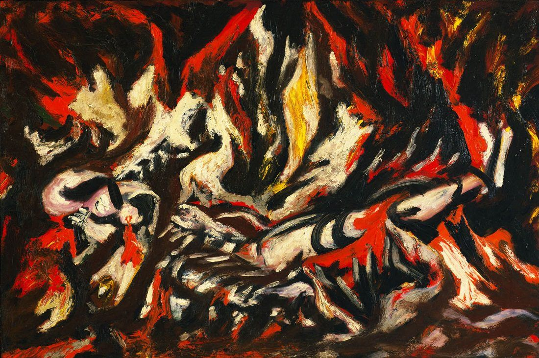 the flame by jackson pollock jackson pollock u s a  the flame 1938 by jackson pollock