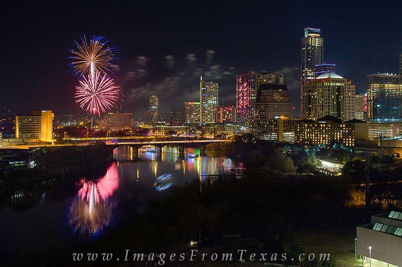 New Year's Eve and the Austin Skyline 1 photo Austin
