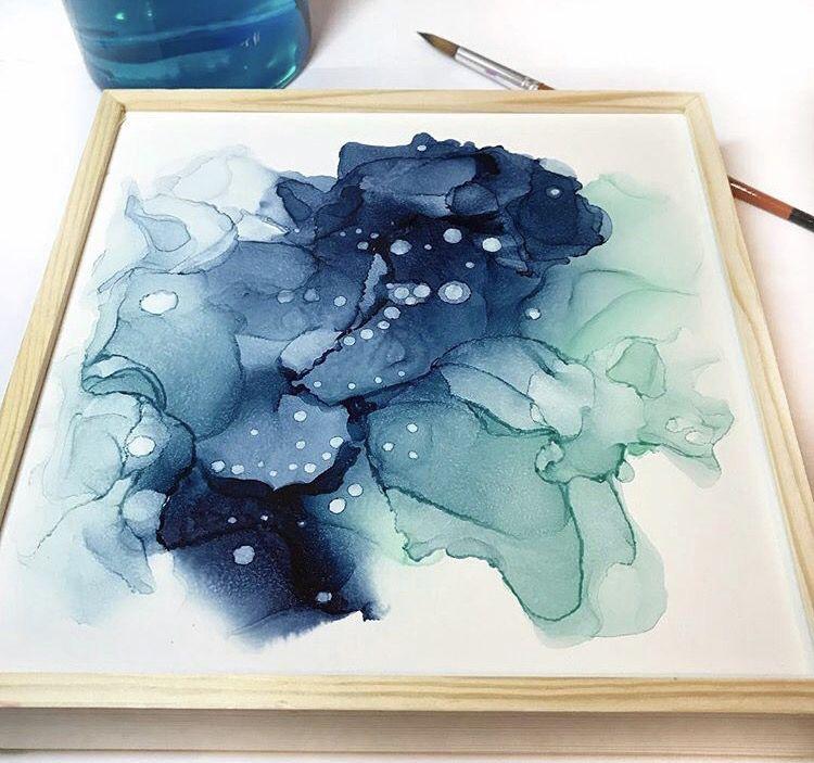Rachel Allen shares her alcohol ink art tips