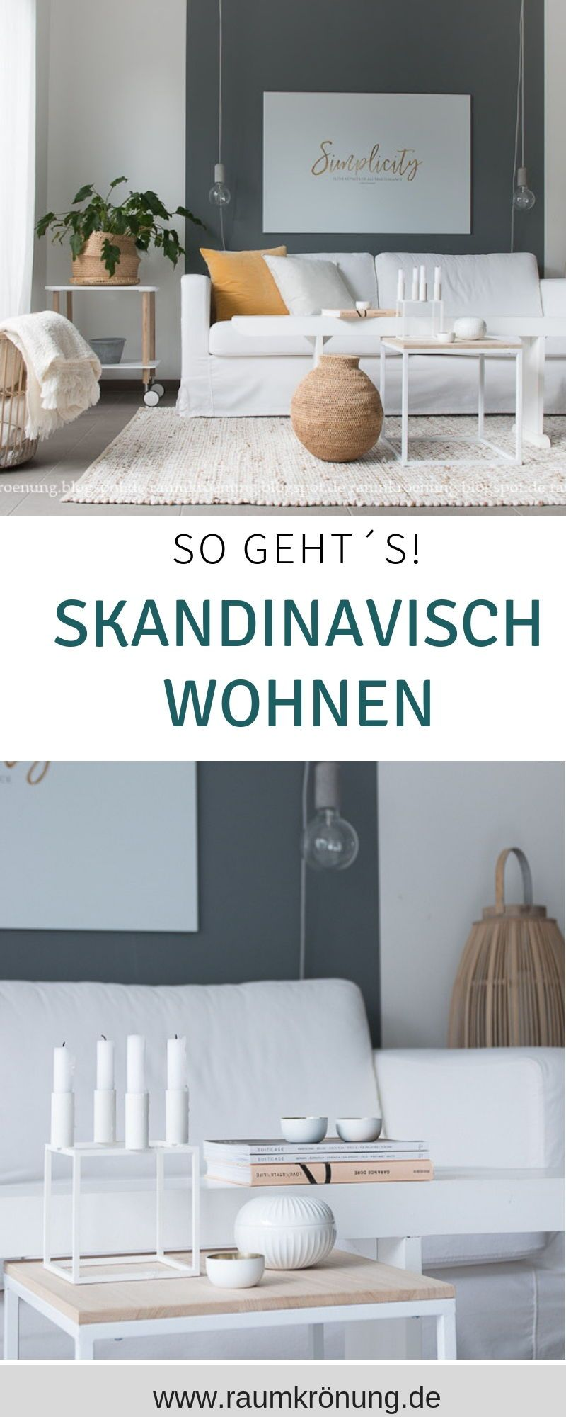 Wohnzimmer dekorierenwohnzimmer ideen skandinavisch ...