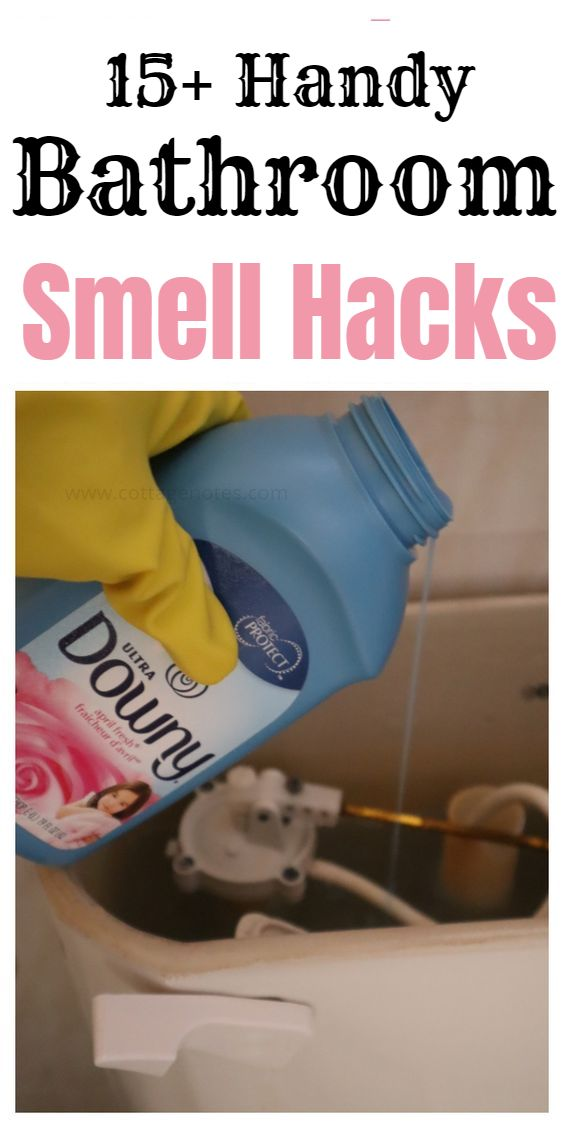 15 Incredible And Easy Bathroom Smell Hacks And Tips Bathroom Smells House Cleaning Tips Bathroom Cleaning Hacks