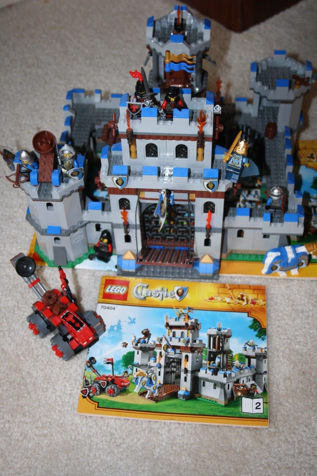 Lego 70404 Kings Castle Complete With Instructions And Box
