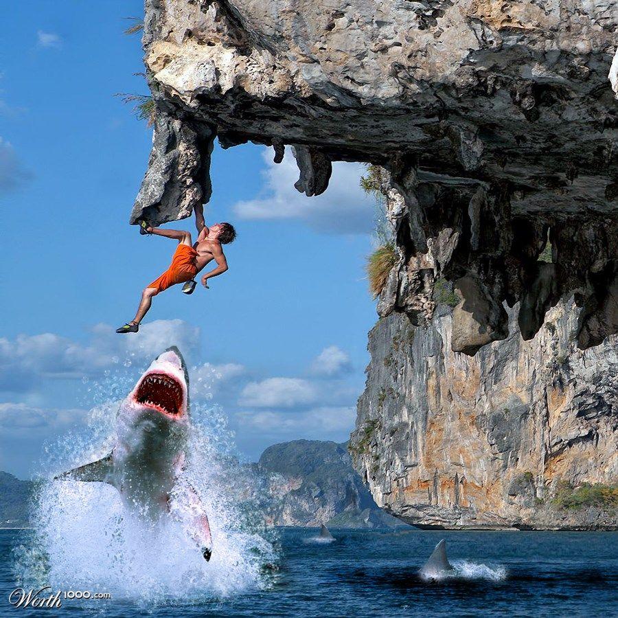 Extreme Rock Climbing - Google Omg Funny Pics