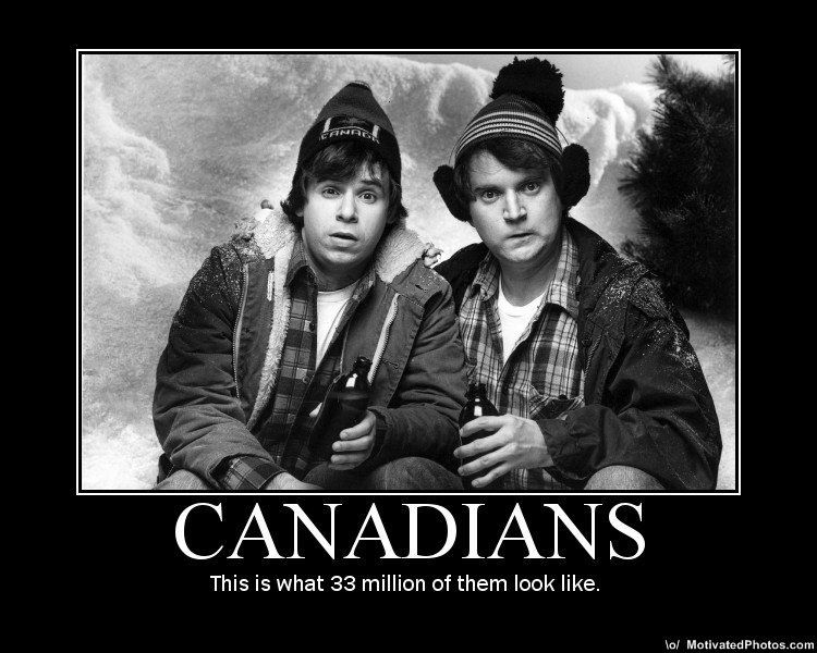 Bob And Doug This Is Canada Eh Canadian Humor Winter Humor