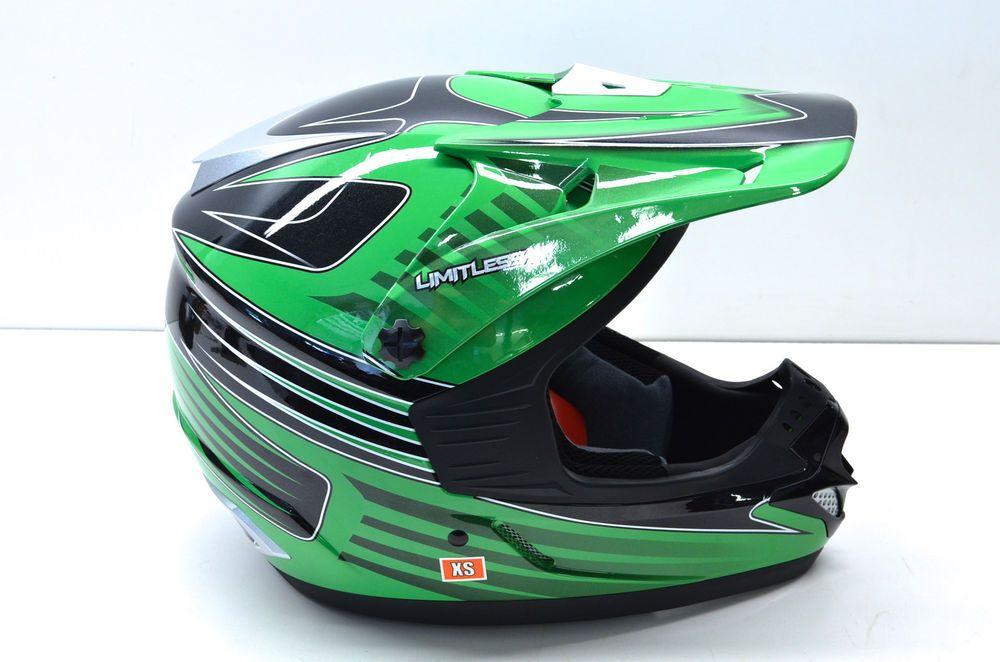 New Fulmer X30 Green Limitless Helmet Xs Nos Ebay Motors Parts Amp Accessories Apparel Amp Merchandise Ebay Helmet Motocross Helmets Motocross Gloves
