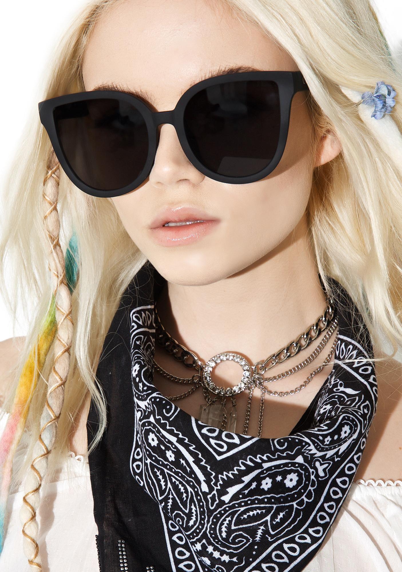9da366a5e72 Quay Eyeware Black Paradiso Sunglasses will have you flirtin  with tha  tropic heat