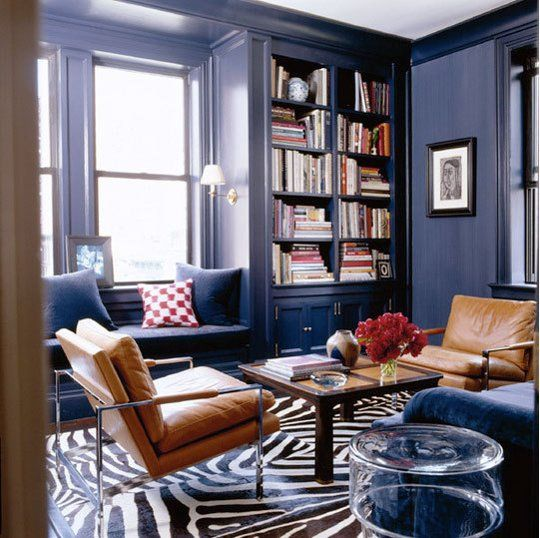 Inspiration Dark Blue Walls Home Rugs In Living Room Blue Rooms