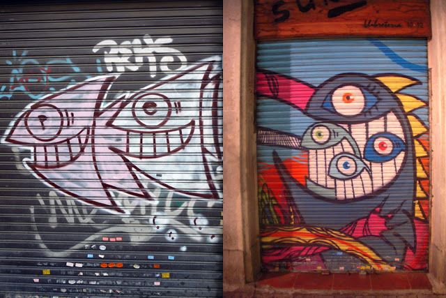 The Best Graffiti Street Art from PEZ - Barcelona 2008