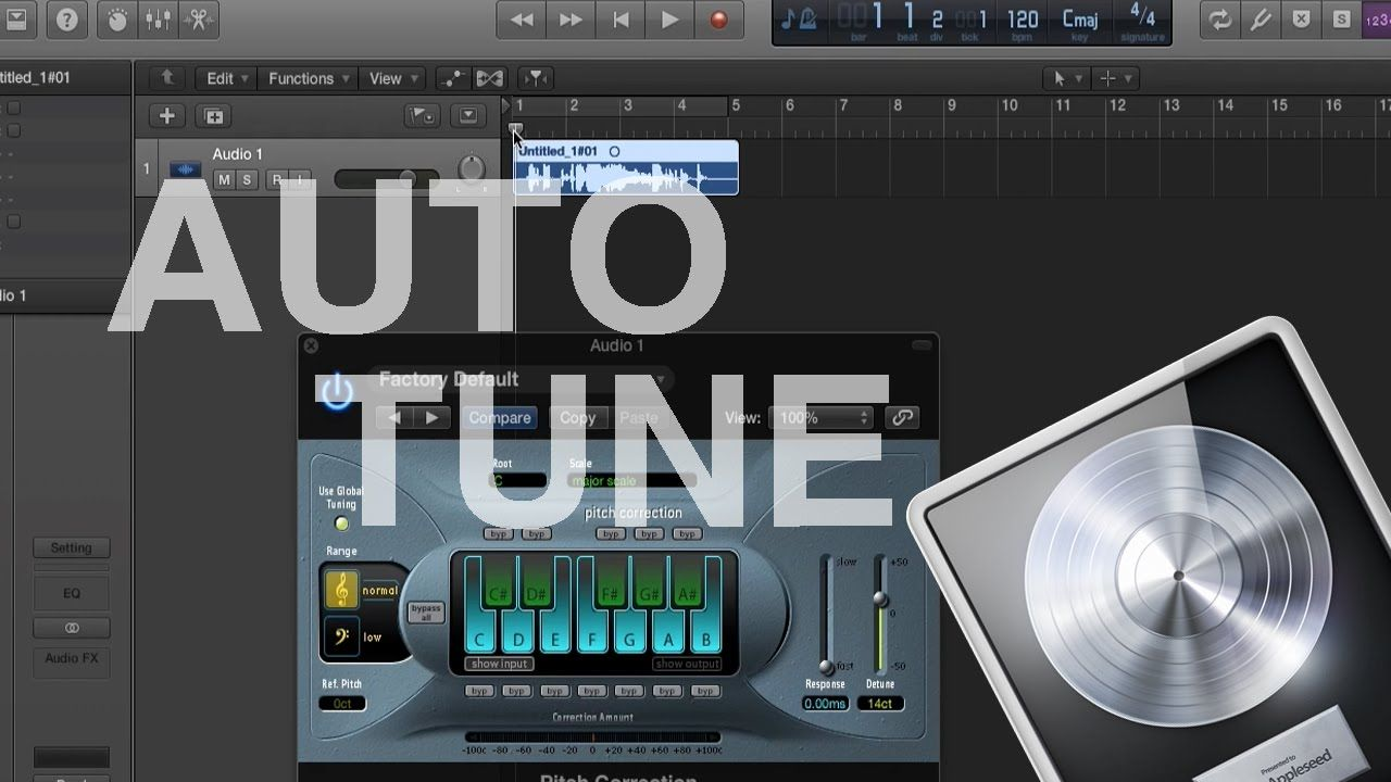 How to Auto Tune in Logic Pro X | Logic Tutorials | Logic pro x
