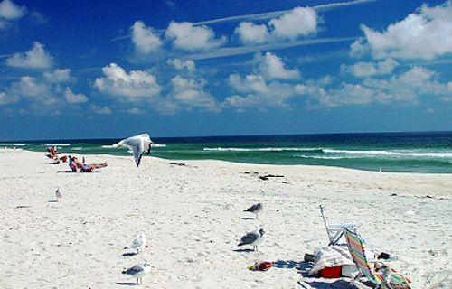 Main Beach In East Hampton New York Is