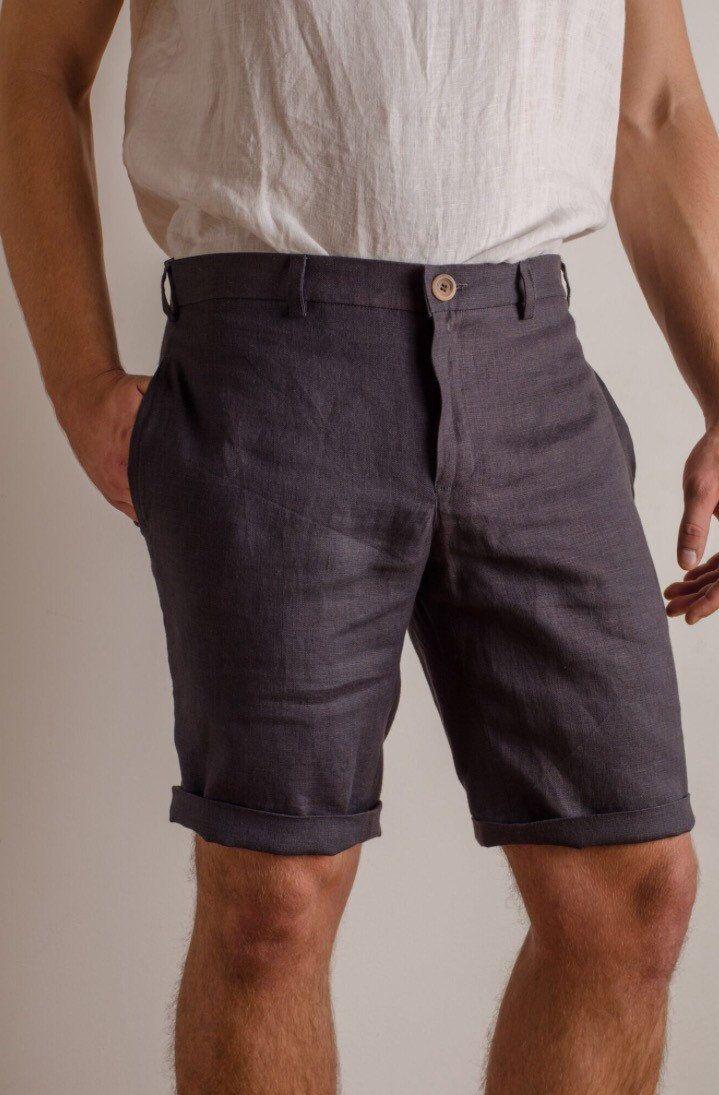 Men Summer Shorts For Beach Wedding Party Etsy Mens Summer Mens Fashion Jeans Mens Dress Shorts [ 1095 x 719 Pixel ]