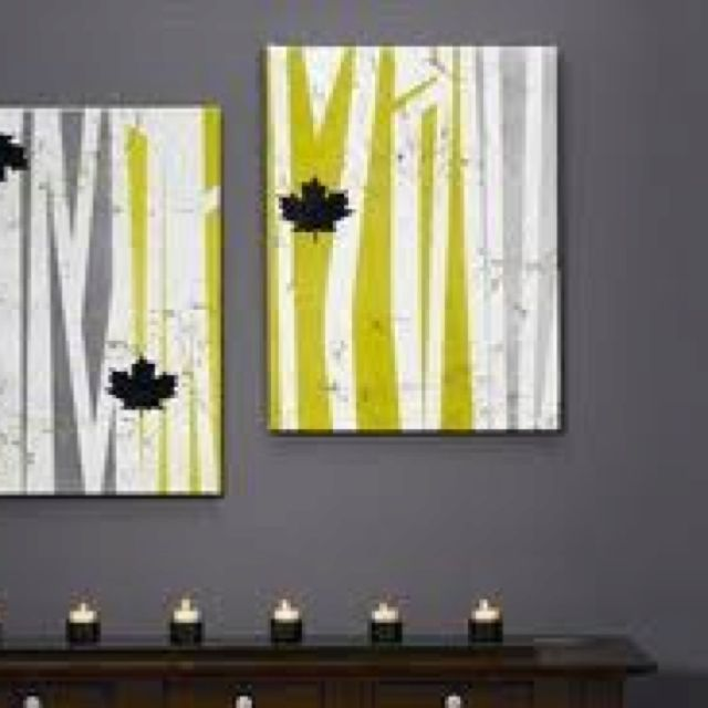 Spray painted DIY wall art | Chic Wall Art | Pinterest | Diy wall ...