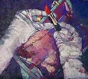 """My mom's painting! """"Last-minute touchup"""" by Patricia Ann Woodard"""