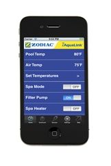 Zodiac iAquaLink - control your pool/spa anytime, anywhere on your smart phone or web-connected device