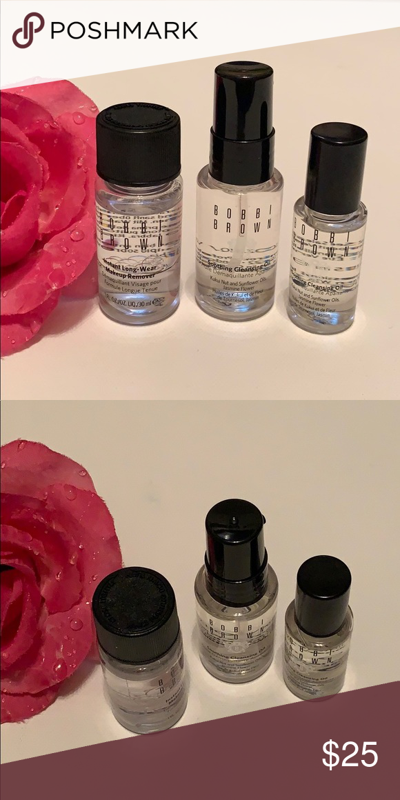 Bobbi Brown Instant Makeup Remover & Cleansing Oil NWT in