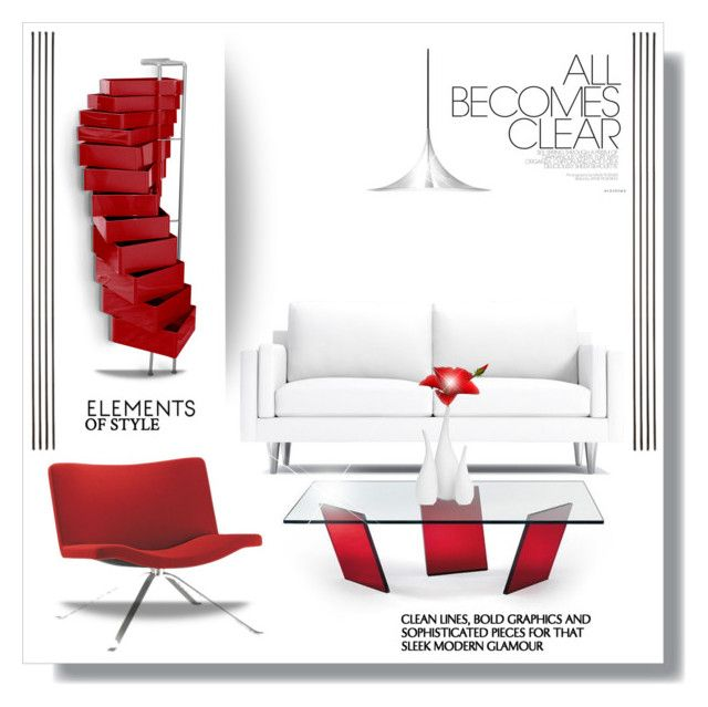 Red and white simplicity\