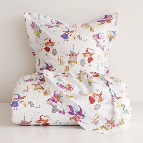 linge de lit enfant zara home Linge de Lit Coton Petites Sorcières | ZARA HOME France | chambre  linge de lit enfant zara home