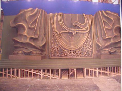 EPS Foam Carving | foam | Foam carving, Prop maker, Sculpture