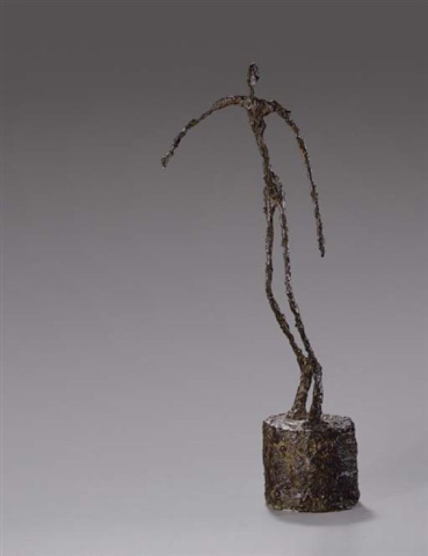 Alberto Giacometti. Sometimes when I close my eyes, figures like this float through my mind... not that I'm crazy or anything...