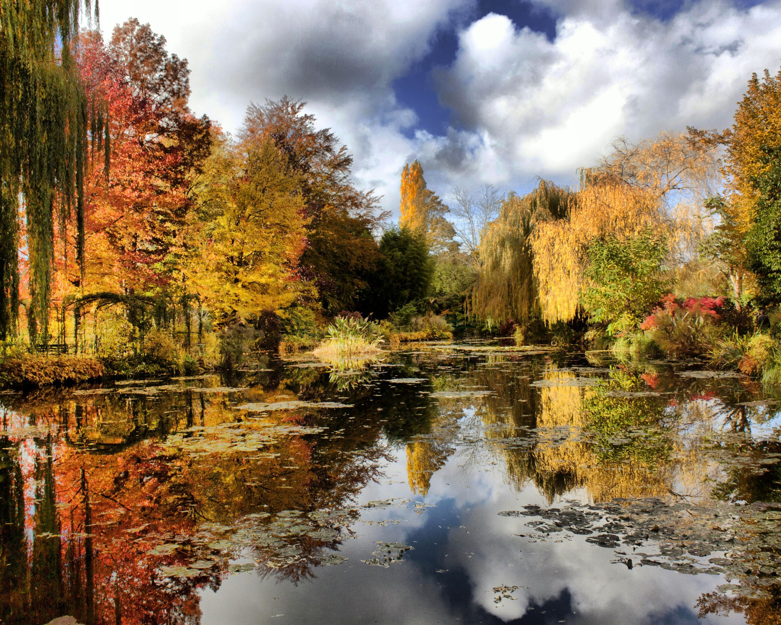 Claude Monet\'s garden – Giverny, Upper Normandy, France   Free ...