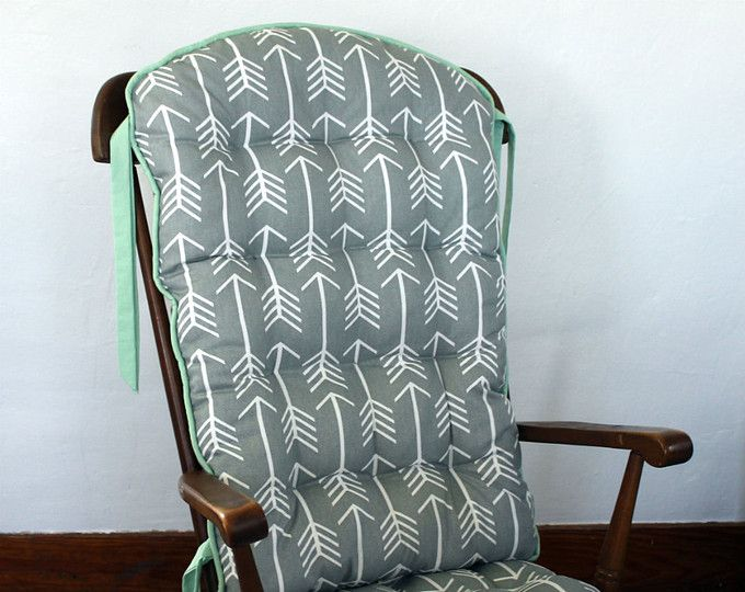 Custom Tribal Arrow Rocking Chair Cushions Glider Replacement Pads
