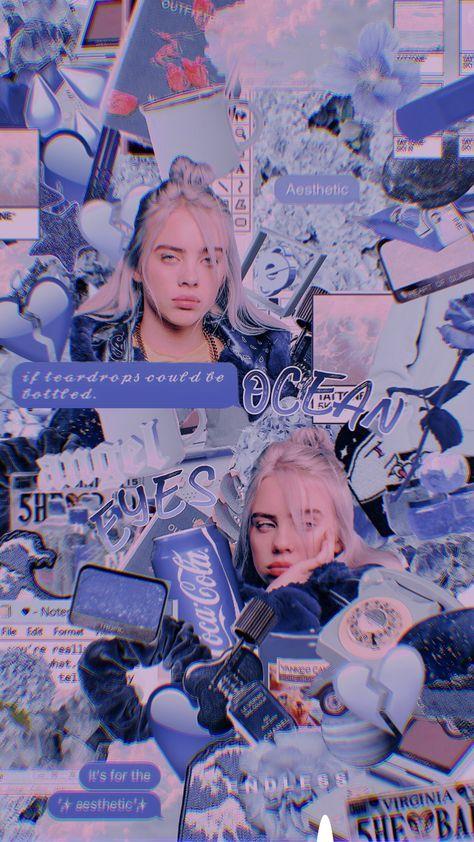 61 ideas blue aesthetic wallpaper billie eilish in 2020