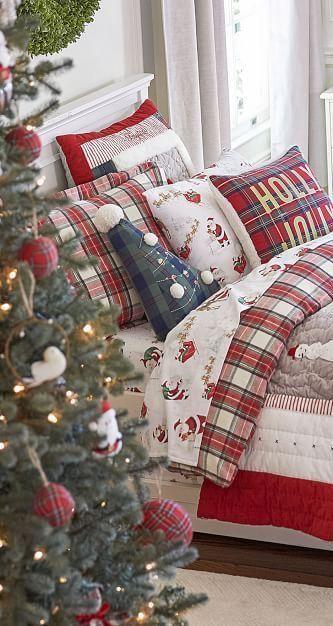 Snoopy Santa Claus Christmas Winter Time Oreiller Pillow