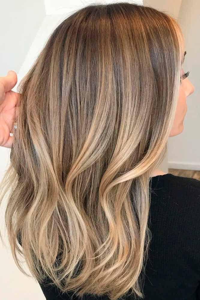 49 charmante und schicke Optionen für braunes Haar mit