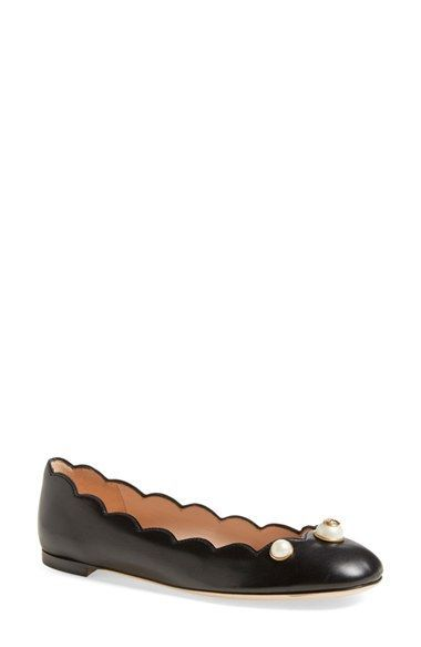 Gucci 'Willow' Scalloped Flat (Women) | Stuff I like part 2 | Pinterest | Gucci  shoes, Gucci and Woman