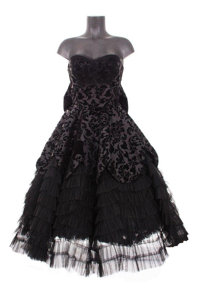 Robe gothique HELL BUNNY \u0027sweety princess\u0027