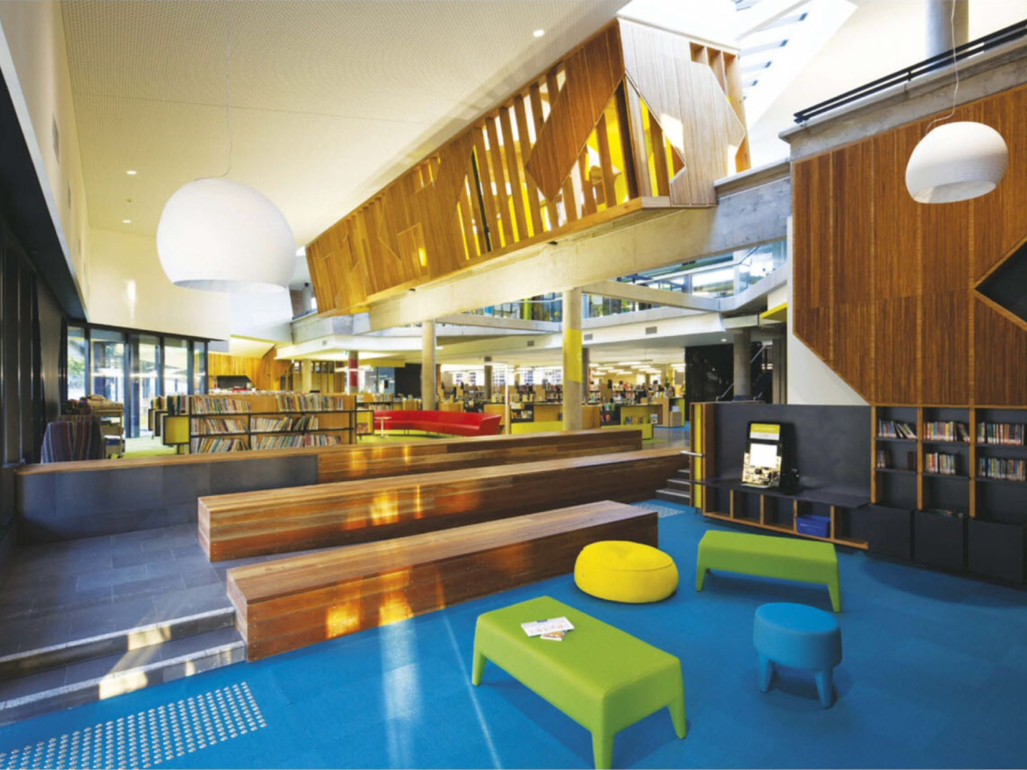 Bendigo Library Interior Design School Education Architecture