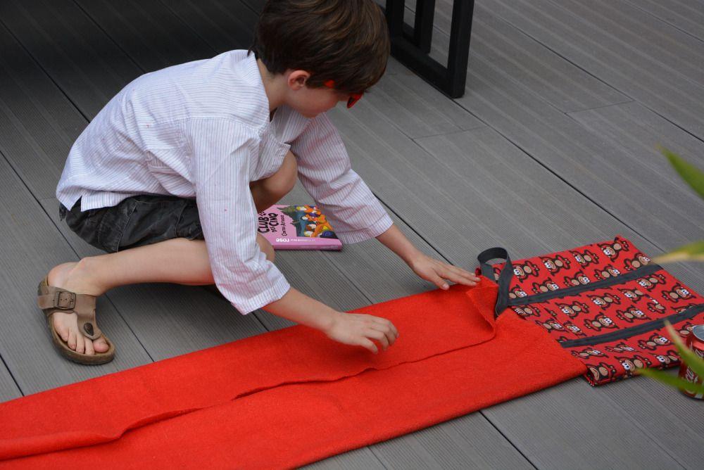 sac de plage serviette couture divers sac. Black Bedroom Furniture Sets. Home Design Ideas