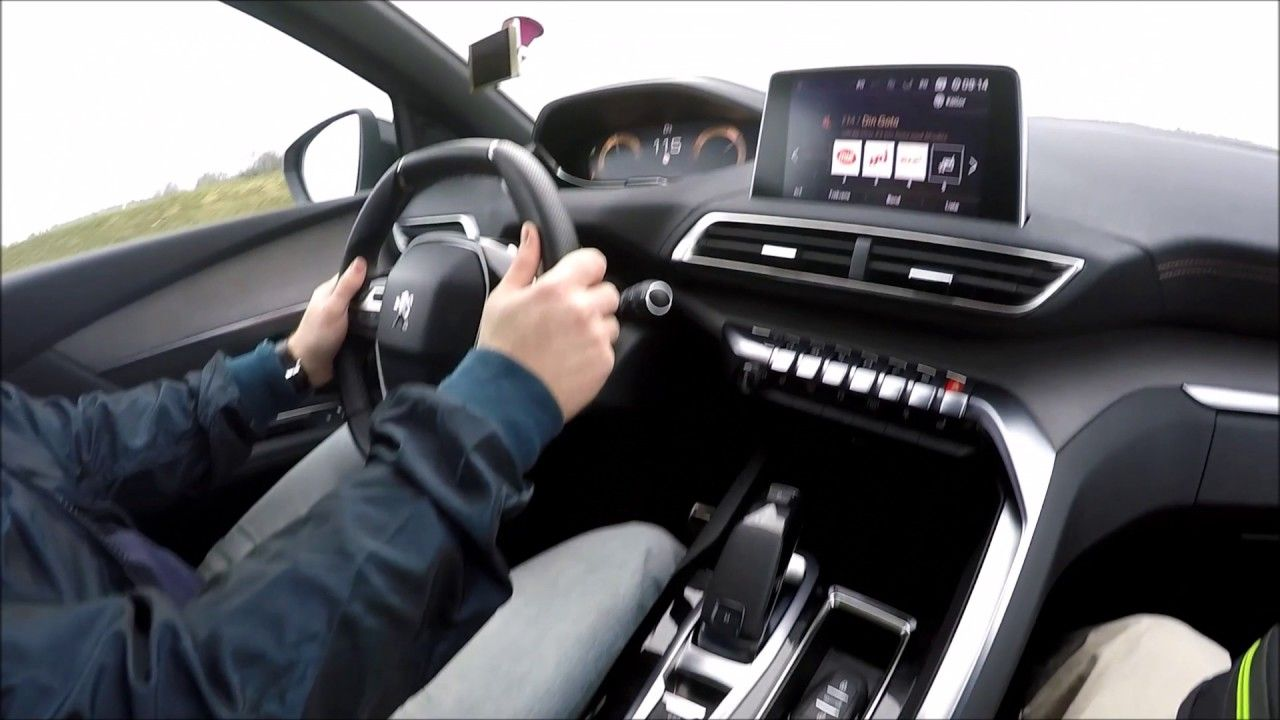 New peugeot 3008 suv review and test driving 2017 with euromandriver best family suvs