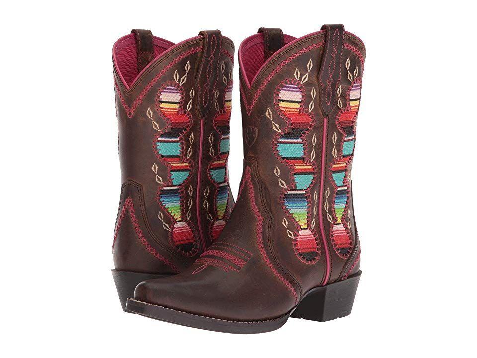 04357426c77 Ariat Kids Desert Diva (Toddler/Little Kid/Big Kid) Cowboy Boots ...