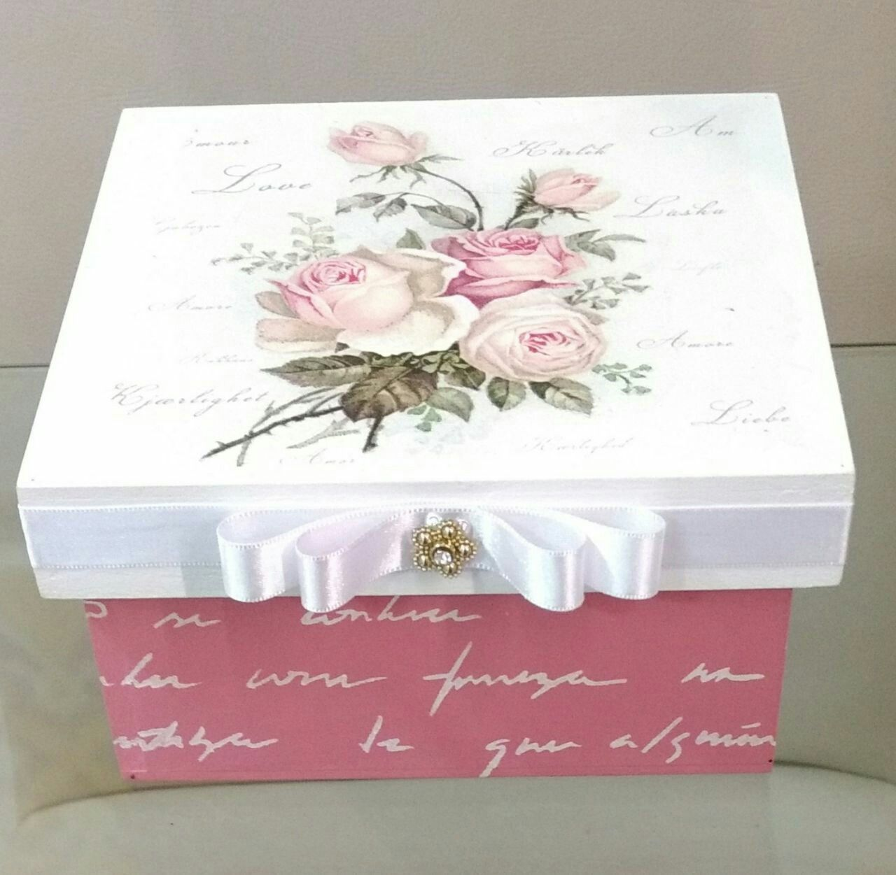 Caixa rosa #caixasdemadeira Caixa rosa #caixasdemadeira Caixa rosa #caixasdemadeira Caixa rosa #caixasdemadeira