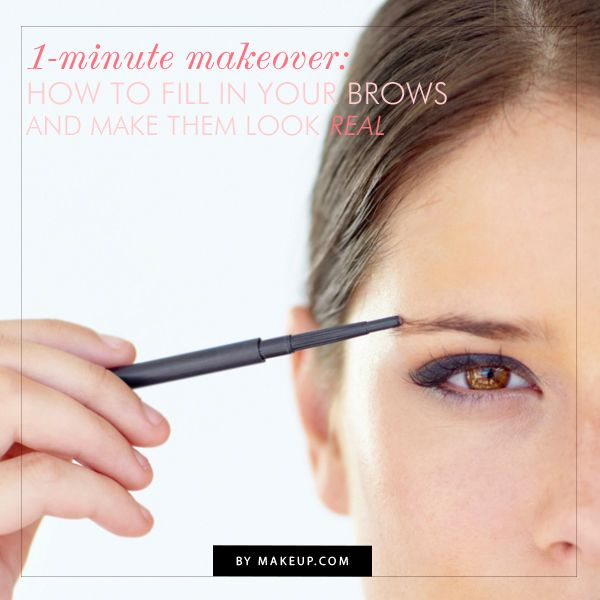 How To Fill In Your Eyebrows Sparse Eyebrows Eyebrow Makeup Brows