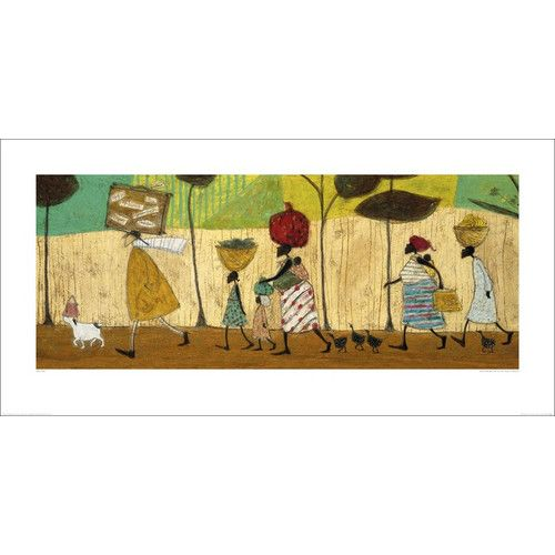 Found it at Wayfair.co.uk - Doris Helps Out on the Trip to Mzuzu by Sam Toft Art Print