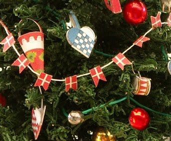 In Scandinavia it is a tradition to decorate Christmas trees with ...