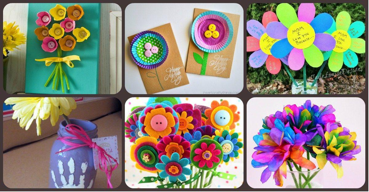 M s de 50 nuevas ideas de regalos manualidades para el d a - Decoracion dia de la madre ...