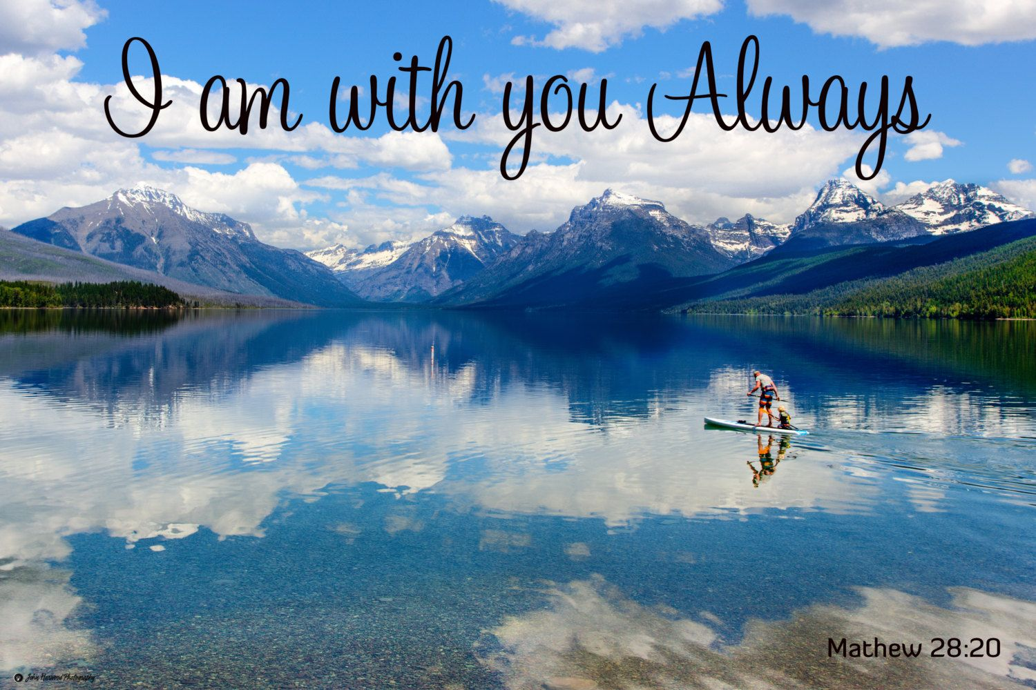 I am with you always quote. mathew 2820. on sale, diy