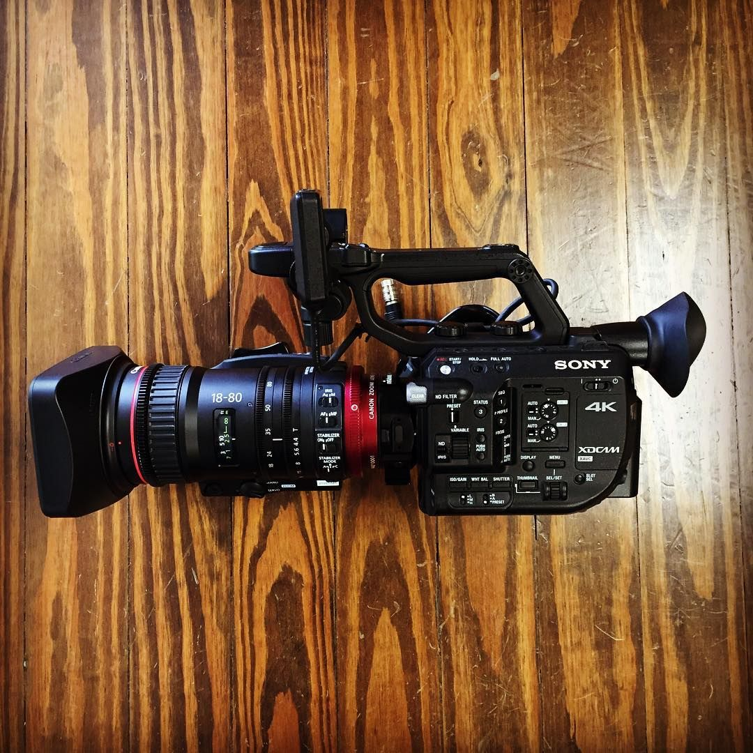 Canon C500 Meet Arri 24mm Ultra Prime Lens The T Sigma 20mm T15 Ff High Speed For Sony Compact Servo On Fs5 Using A Metabones Ef To E